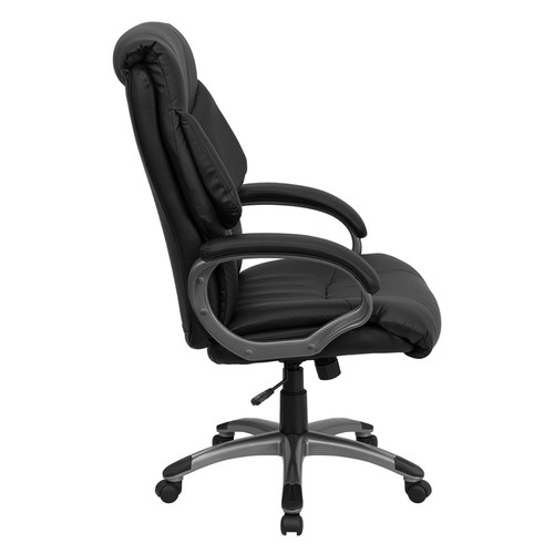 High Back Black Leather Executive Office Chair , #FF-0216-14