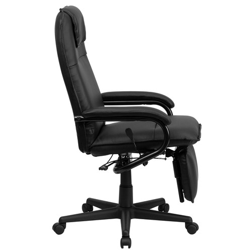 High Back Black Leather Executive Reclining Office Chair , #FF-0226-14