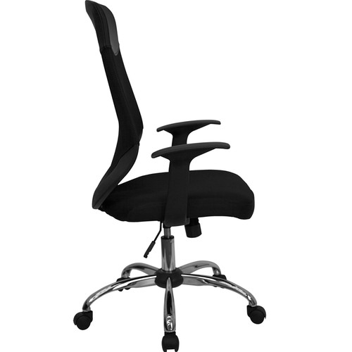 High Back Mesh Office Chair with Mesh Fabric Seat , #FF-0033-14