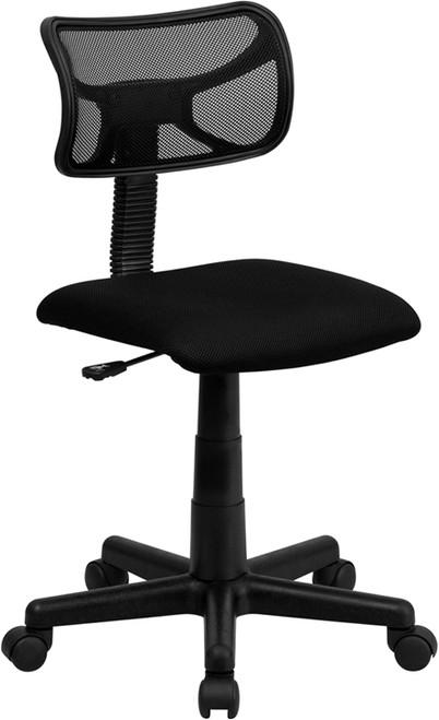 Mid-Back Black Mesh Task Chair , #FF-0011-14