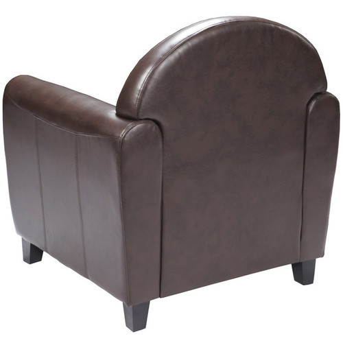 1pc Modern Leather Office Reception Chair, FF-0560-13