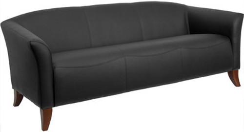 1pc Modern Leatherette Office Reception Sofa, FF-0425-12
