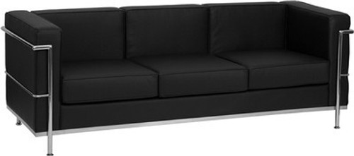 1pc Modern Leather Office Reception Sofa, FF-0465-12