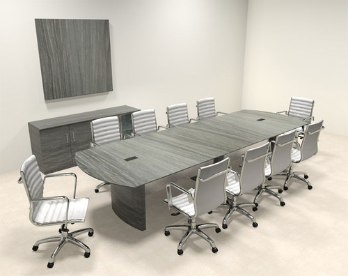 Modern Contemporary 12' Feet Conference Table, #MT-MED-C11