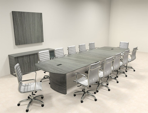 Modern Contemporary 14' Feet Conference Table, #MT-MED-C16