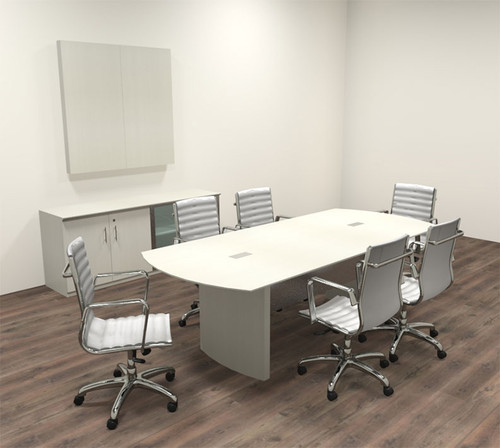 Modern Contemporary 8' Feet Conference Table, #MT-MED-C8