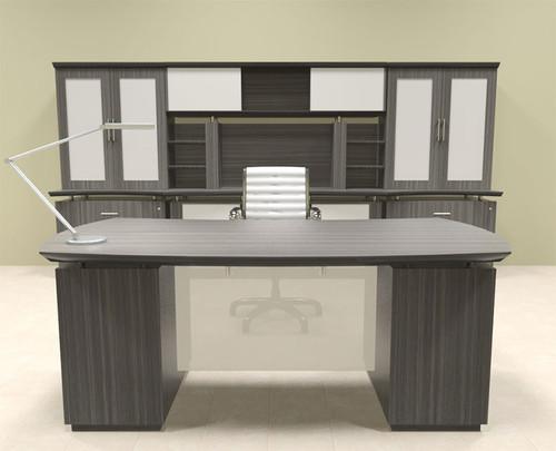 7pc Modern Contemporary Executive Office Desk Set, #MT-STE-D13