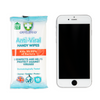 Anti Bacterial Wipes Pocket Size 15 Sheets (size)