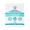 Personal Protection Kit - Gloves, Mask & Wipe