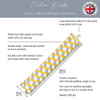 Celina Digby Draught Excluder - Cube Yellow
