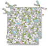 Celina Digby Water Resistant Garden Seat Pads - Cherry Blossom Grey