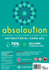 Absoloution Antibacterial Hand Gel 500ml