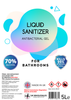 Liquid Sanitizer Antibacterial Hand Gel 5L
