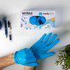 Medybird Nitrile Blue powder free Glove - 40ft Single Container (33,000 Boxes) - FOB