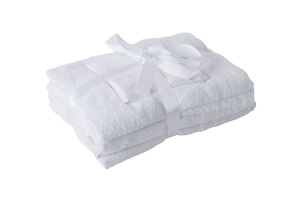 Towel Bale 6 Piece Set With Gift Ribbon