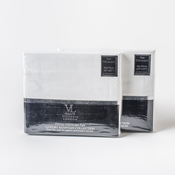 Oxford Style Pillowcases Pairs