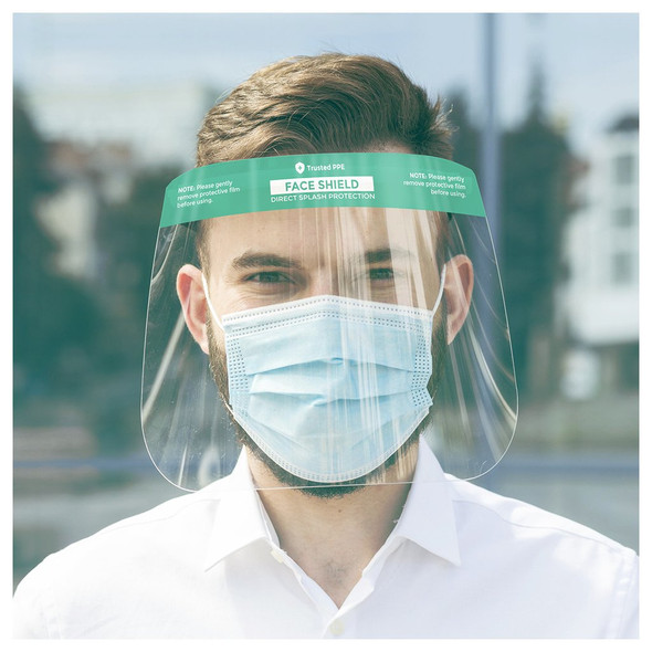 Transparent Face Shield - Pack of 2