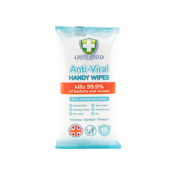 Anti Bacterial Wipes Pocket Size 15 Sheets (main)