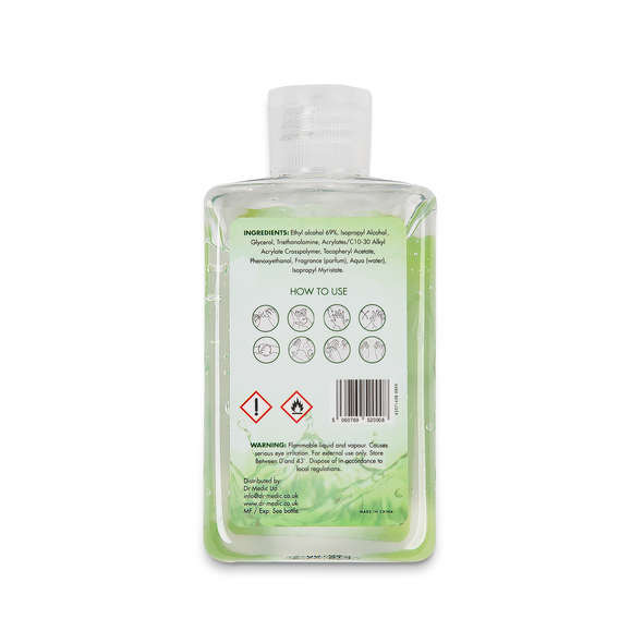 Dr. Medic Instant Hand Sanitizer 100ml (back)