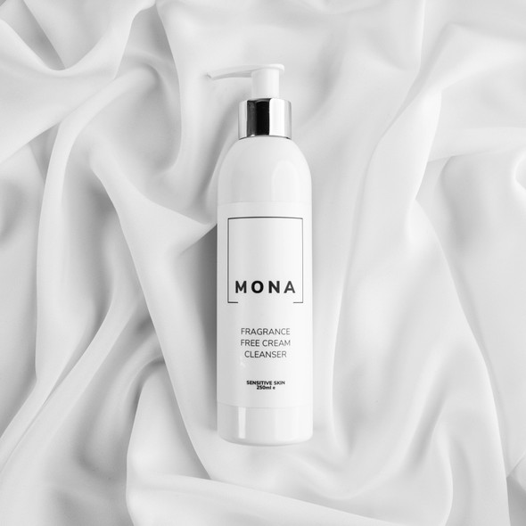 Mona Living Fragrance Free Cream Cleanser 250ml