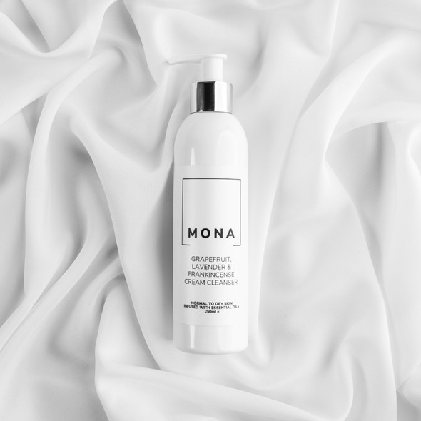 Mona Living Grapefruit, Lavender and Frankincense Cream Cleanser 250ml