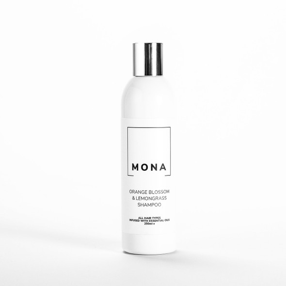 Mona Living Organic Orange Blossom & Lemongrass Shampoo 250ml