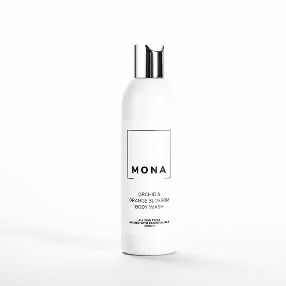 Mona Living Orchid & Orange Blossom Body Wash 250ml