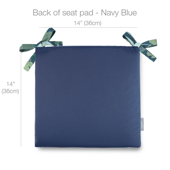 Celina Digby Water Resistant Garden Seat Pads - Palm Leaves