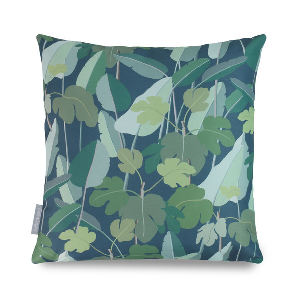 Celina Digby Waterproof Garden Cushions - Palm Leaves