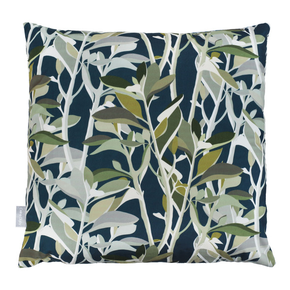 Celina Digby Opulent Velvet Cushions - Ficus Teal