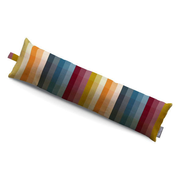 Celina Digby Draught Excluder - Pixel Stripes