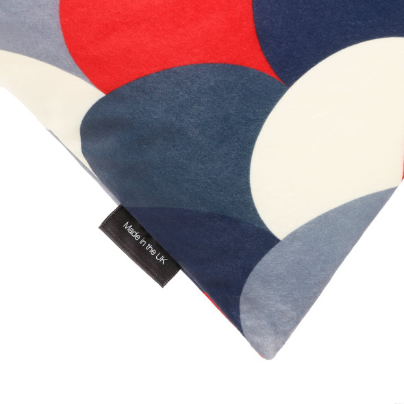Celina Digby Designer Velvet Bean Bag – Scandi Hills Red Navy