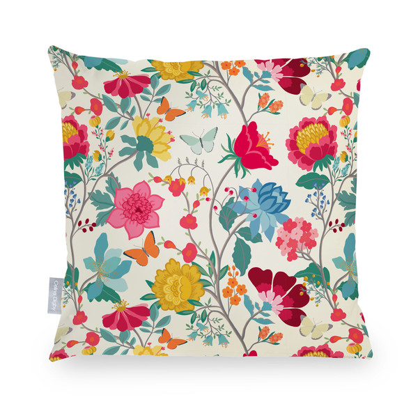 Celina Digby Waterproof Garden Cushion - Midsummer Morning
