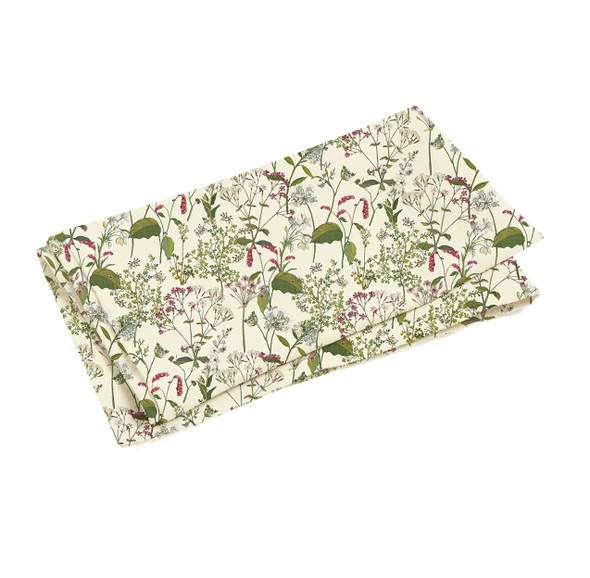 Water Resistant Fabric 2 Mtrs - Welsh Meadow Cream