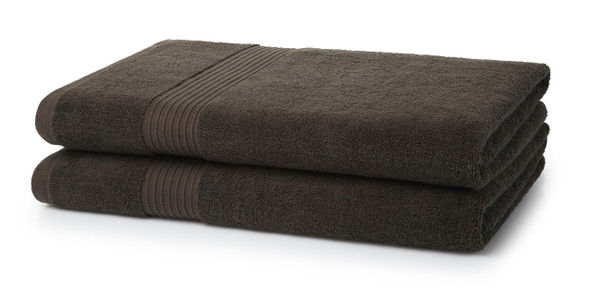 Premium Bath Sheets (100x150cm)- 700 GSM (Chocolate Brown)