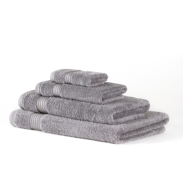 Premium Bamboo Collection Towels - 700 GSM Super Soft (Light Grey)