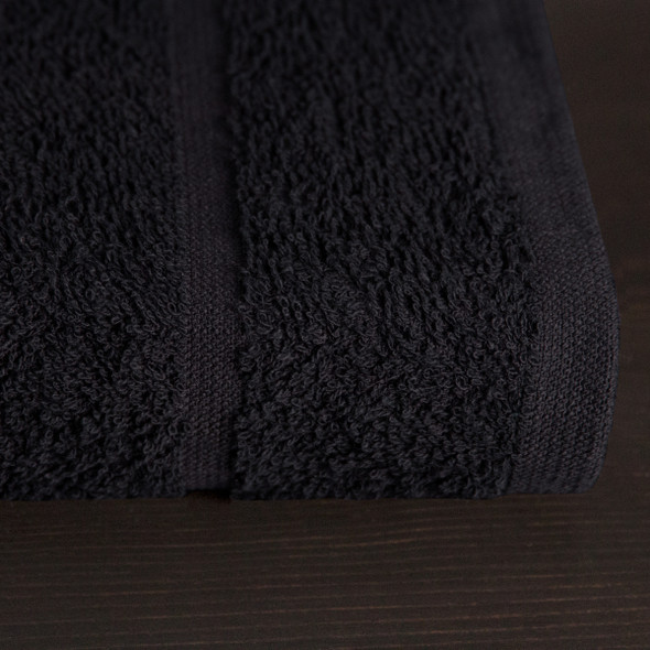 Chlorine Resistant Salon Towels 400 GSM - Black