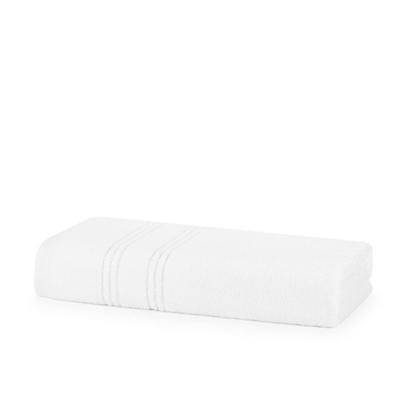 Opulence Zero Twist Soft Extra Plush Towels 100% Cotton - 600 GSM Bath Towel (White)