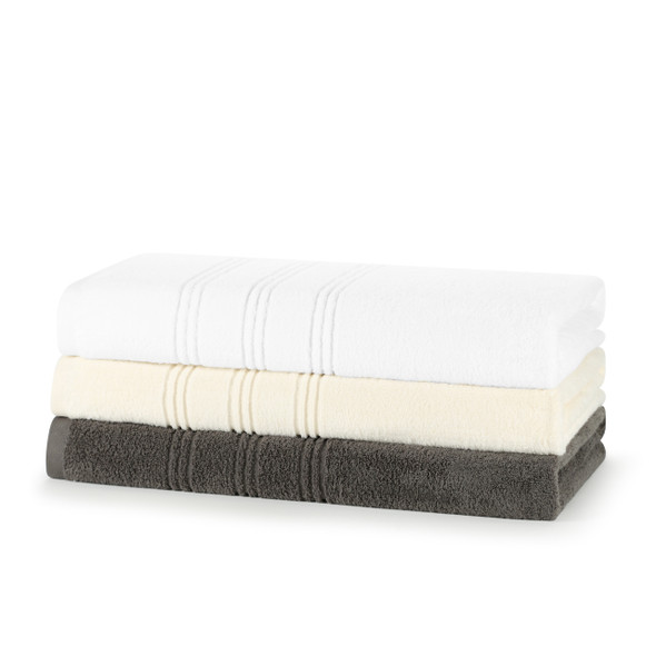 Opulence Zero Twist Soft Extra Plush Towels 100% Cotton - 600 GSM Bath Sheets