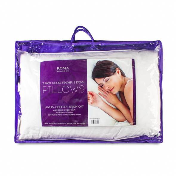 Goose Feather &  Down Luxury Pillows