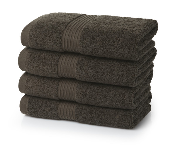 Premium Hand Towels (50x85cm)- 700 GSM (Chocolate Brown)