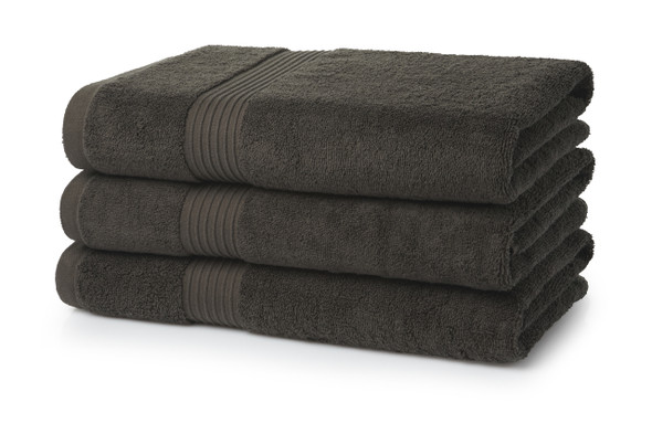 Premium Bath Towels (70x130cm)- 700 GSM  (Chocolate Brown)