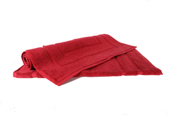Royal Egyptian 1000 GSM Luxury Bath Mats (Wine)