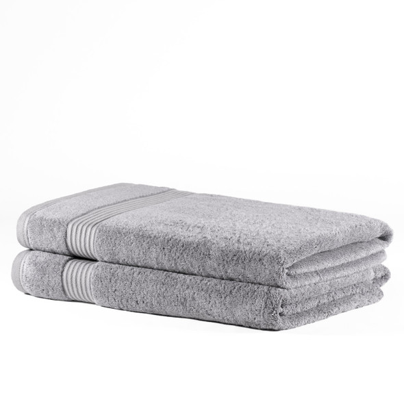 Premium Bamboo Collection  Bath Sheets - 700 GSM Super Soft (Light Grey)