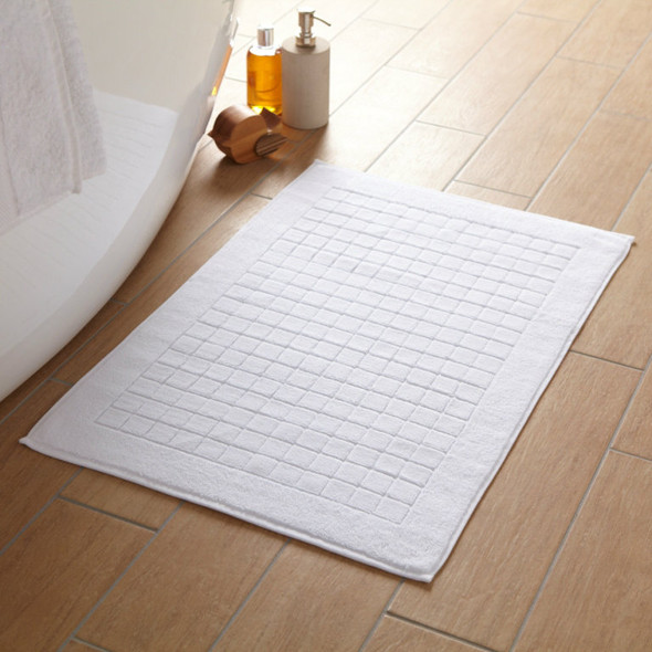850 GSM Chequer board Bath Mats - 100% Cotton