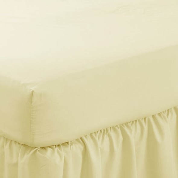 """Fitted Sheet -12"""" Deep Polycotton 144 Thread Count"""