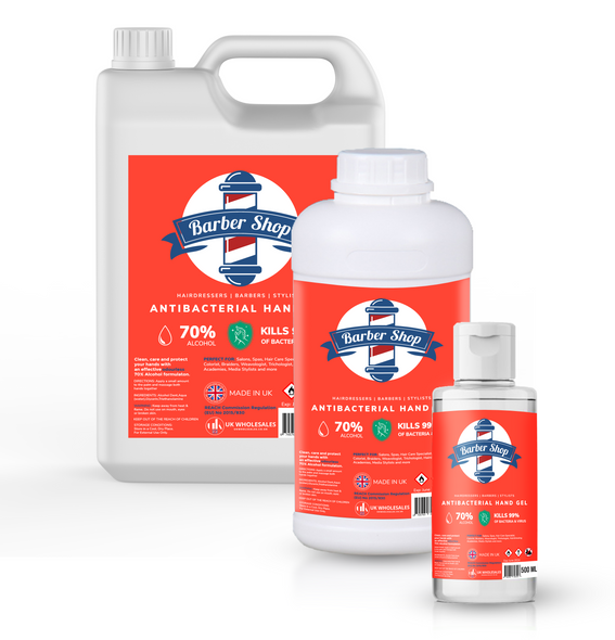 Barber Shop Antibacterial Hand Gel 5L