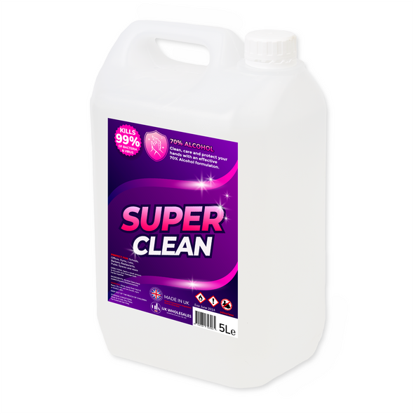 Super Clean Antibacterial Hand Gel 5L