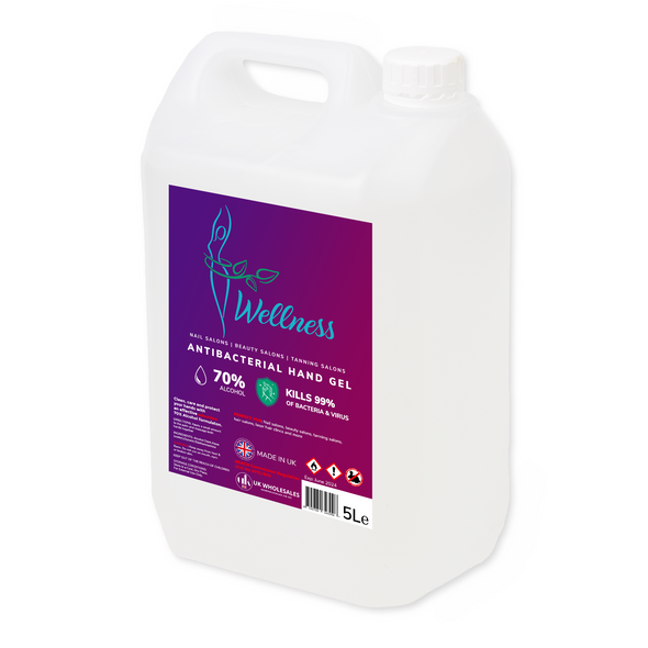 Wellness Antibacterial Hand Gel 5L