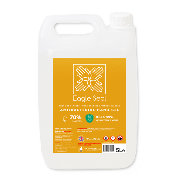 Eagle Seal Antibacterial Hand Gel 5L